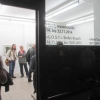 Vernissage in der Galerie Baer