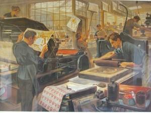 Lithografie historisch